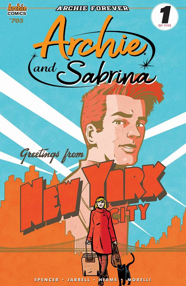 Archie Will Be Relaunched as Archie and Sabrina in May