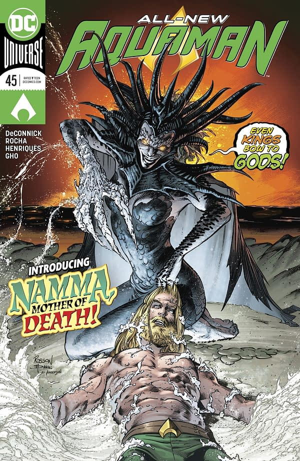 That Time the Ocean Had Sex with Itself in Tomorrow's Aquaman #45