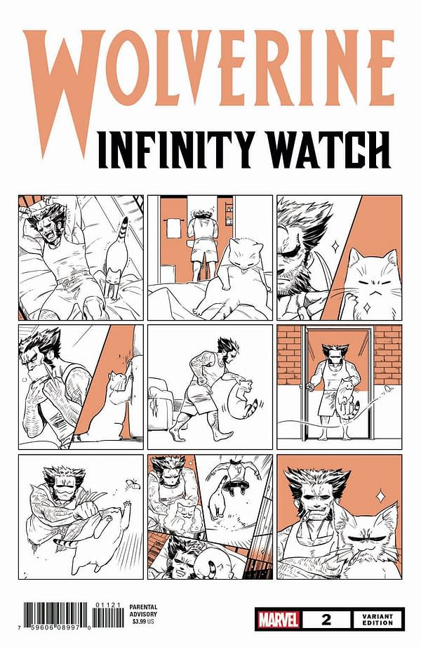 All 6 Nao Fuji Marvel Comics Cat Variant Covers in Full