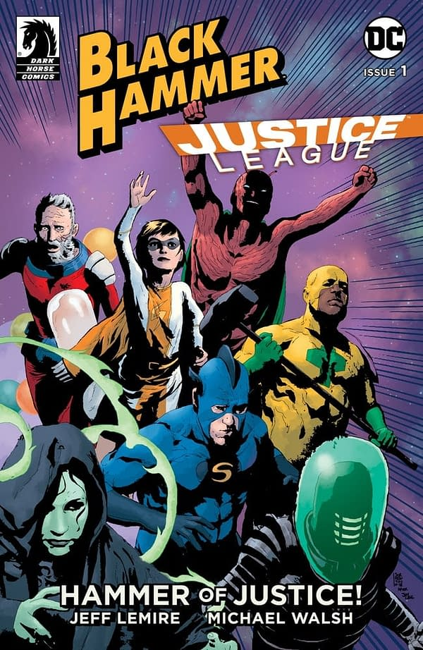 TOLDJA: A Justice League/Black Hammer Crossover From Jeff Lemire