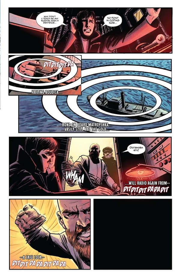 Jeff Parker's Writer's Commentary on James Bond: Origin #8 – 'Observing What Might Be Useful Later'