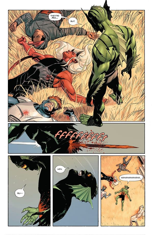 So... Who Killed Lagoon Boy In Heroes In Crisis?