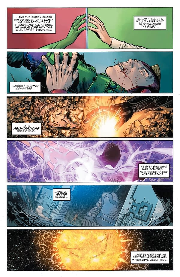 How Scott Snyder Will End Justice League - and What Grant Morrison Told Him Was Beyond The Source Wall