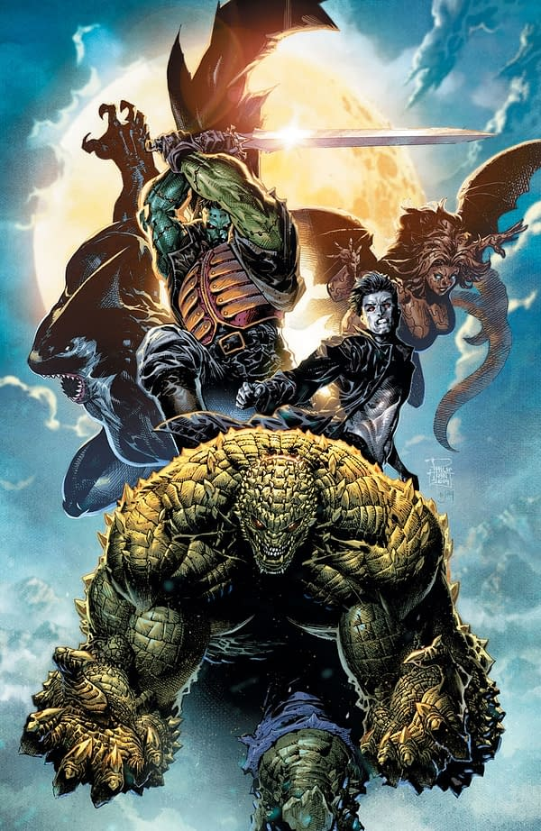 DC Comics Launch 'Gotham City Monsters' with Frankenstein, Killer Croc, Lady Clayface, Orca, I Vampire - But No Poison Ivy
