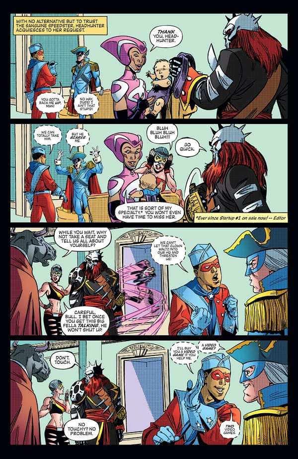 Free On Bleeding Cool: The First 19 Pages of Headhunter #3 – Will a Homeless, Super-Powered Vigilante
