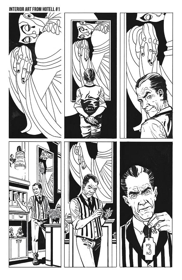 "John Lees and Dalibor Talajić Launch ""Hotell"" From AWA Comics"