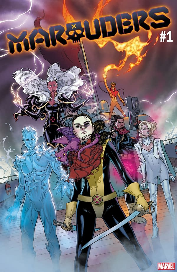 Marvel Didn't Support Sina Grace on Iceman, But the Line-Up of Marauders is Ripped From It