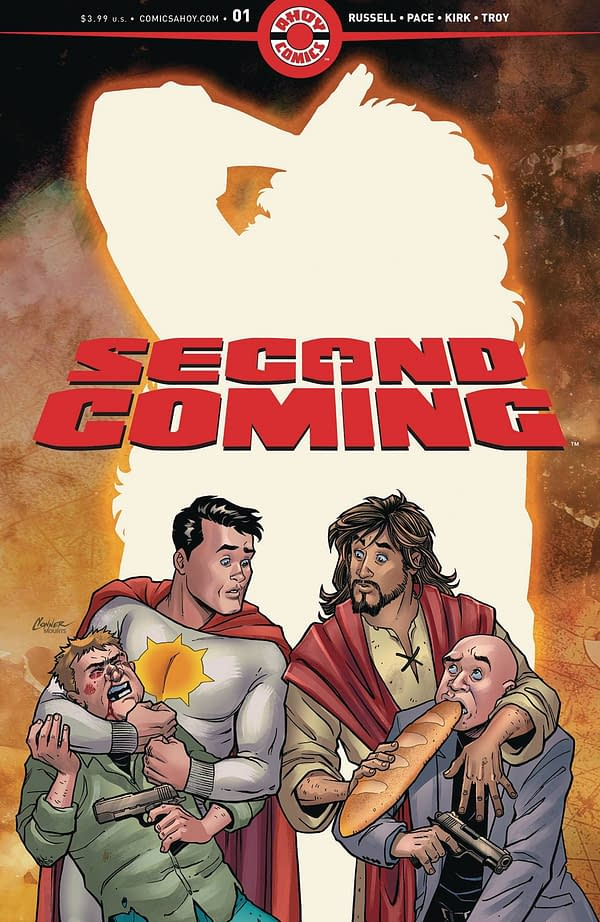 Second Coming #1 Gets a Second Printing – It Has Risen Again, Hallelujah