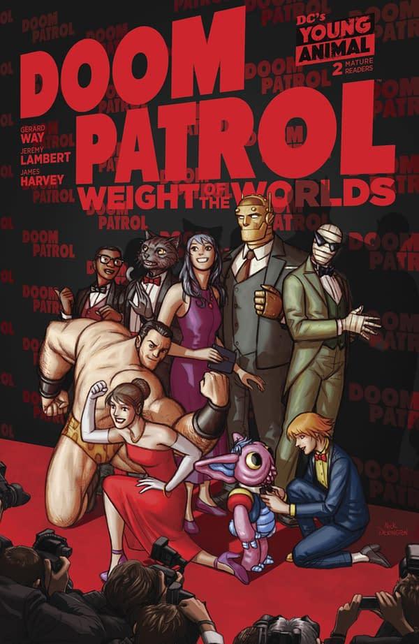 Doom Patrol: Weight of the Worlds #2