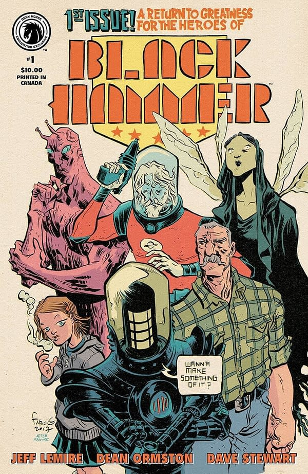 Dark Horse Rose City Comic Con Exclusives Include Black Hammer/Justice League, Critical Role, More