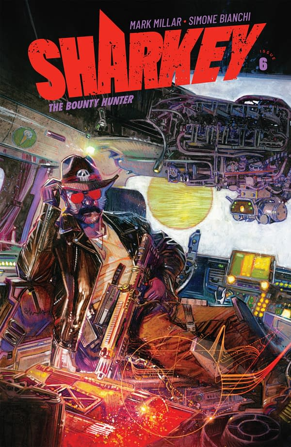 LATE: Sharkey The Bounty Hunter #6 Gets a New Cover by Tommy Lee Edwards