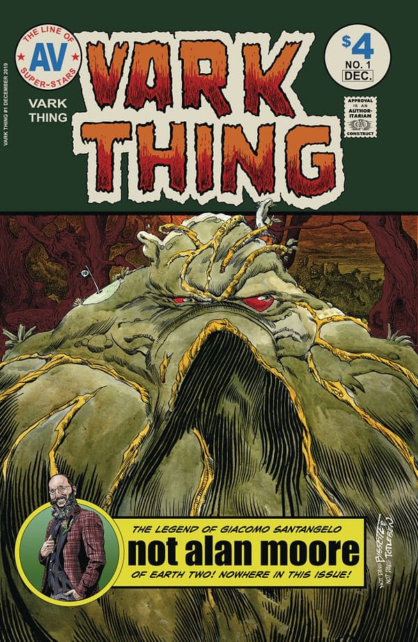 Dave Sim Does Cerebus/Swamp Thing in Vark Wars #1