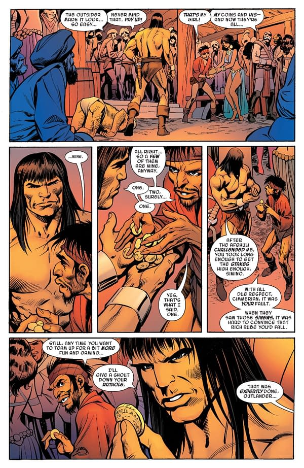 When Alan Davis Draws You as a Scoundrel Rat For Savage Sword Of Conan #10