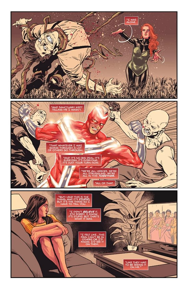 Flash Forward #2 Rewrites Heroes In Crisis - What Happened to the Heroes Wally West Killed - and His Kids? (Spoilers)