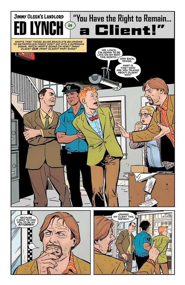 Not The Journalist Gotham Deserves But the One They Need Right Now in Jimmy Olsen #4 [Preview]