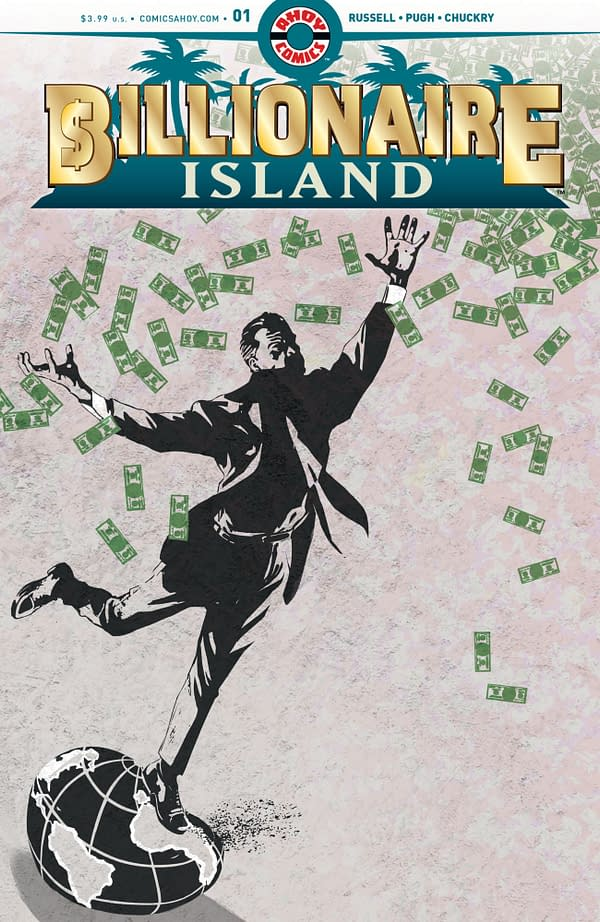 The Flintstones' Mark Russell and Steve Pugh Reunite For Billionaire Island, and More From Ahoy Comics' Fourth Wave for 2020
