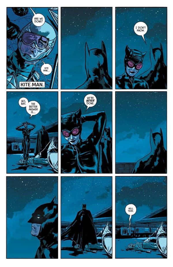 The Return of Kite-Man in Tom King's Batman