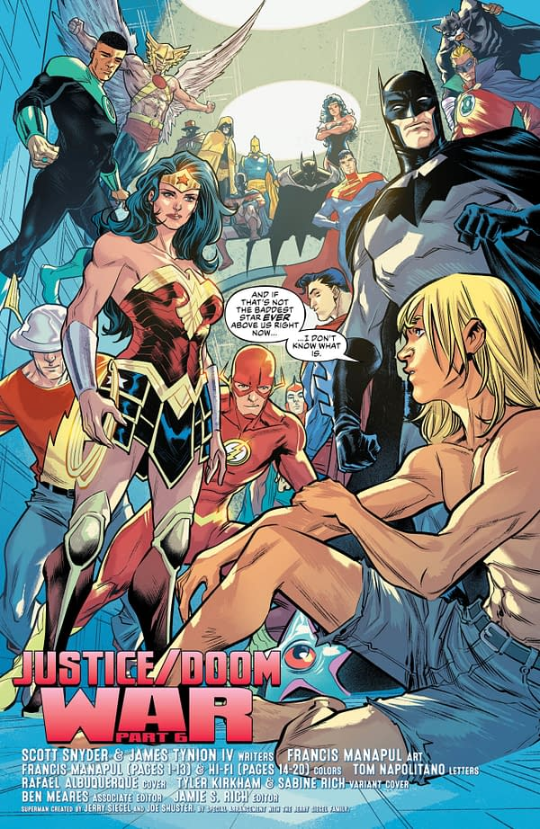 All Hope is Lost in Justice League #35 [Preview]