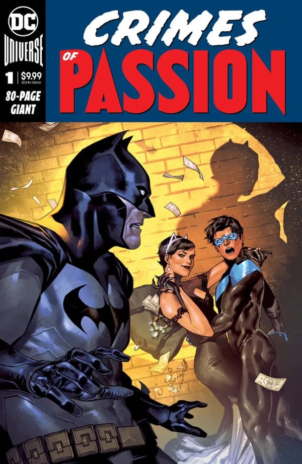 DC Bait Readers By Having Catwoman Cheat On Batman With Nightwing in February