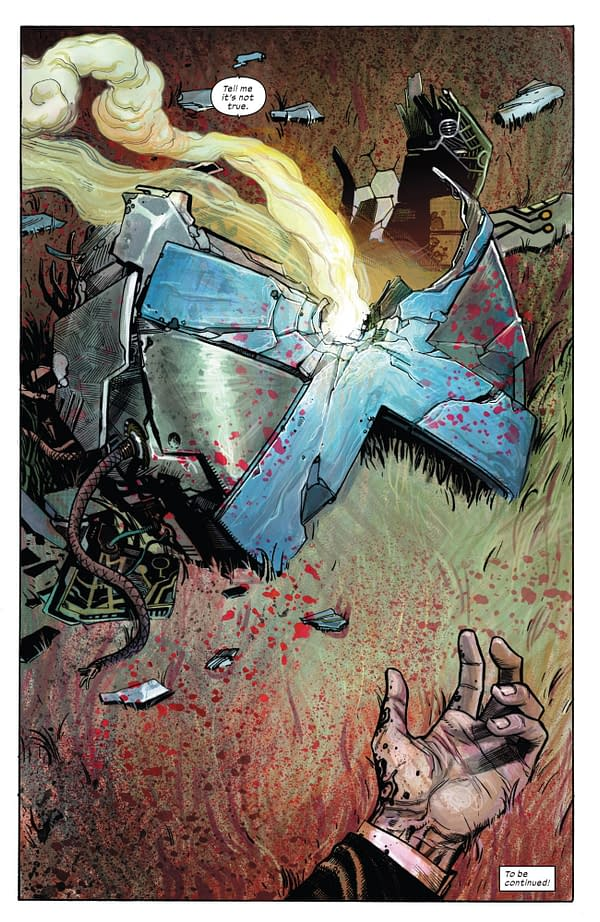 In Today's X-Force #1, A Mutant Death That Can't Be Undone? [Massive Spoilers]