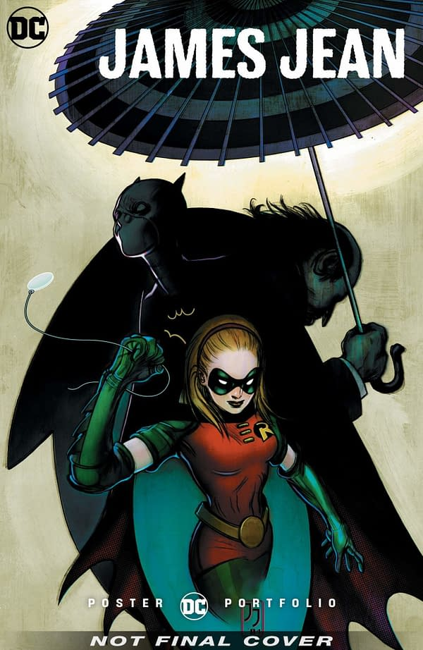 DC Comics to Publish James Jean Poster Portfolio in August 2020
