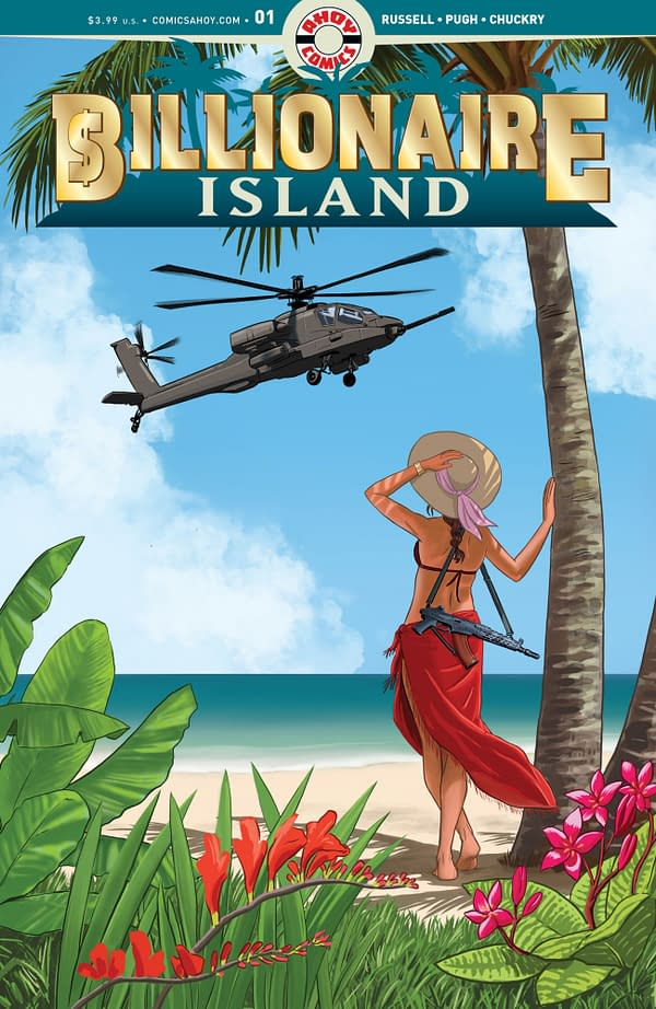 Billionaire's Island Preview, and Pia Guerra Variant, in Ahoy Comics' March 2020 Solicitations