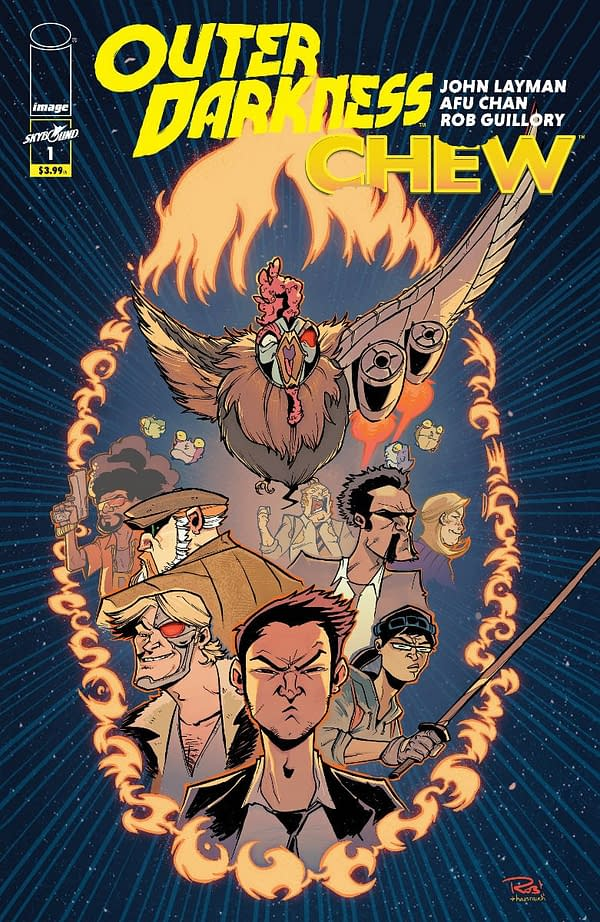 Chew and Outer Darkness to Crossover at Image, by John Layman, Afu Chan, and Rob Guillory