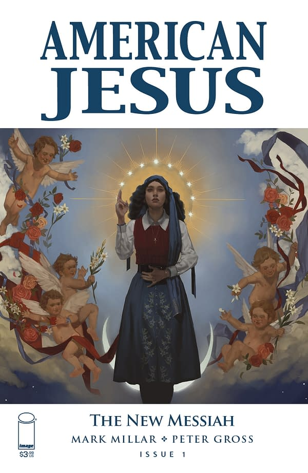 Image Comics Reveals Full Solicitations for American Jesus: The New Messiah #1, #2 and #3