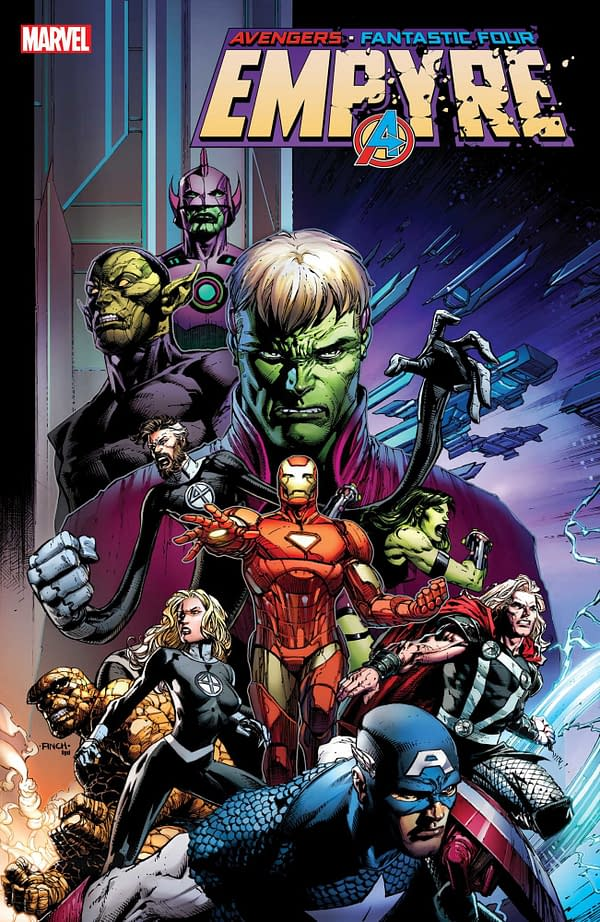 Cover to Empyre 1 by David Finch