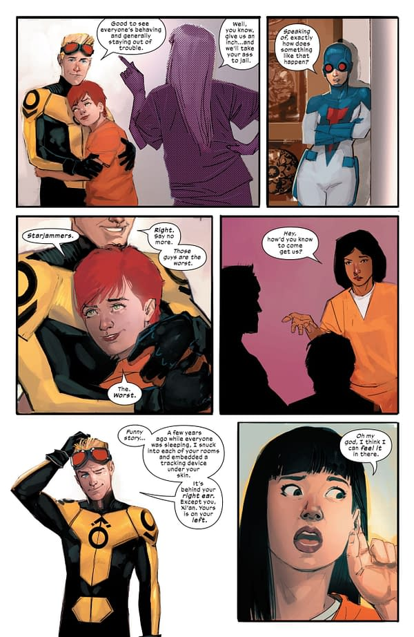 Will X-Men #9 Give Us An Intergalactic Cannonball Run?