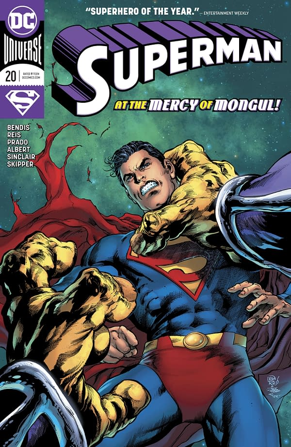Superman #20 [Preview]