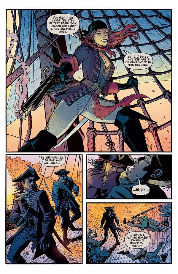Preview of Pirate Anne Bonny Comic,