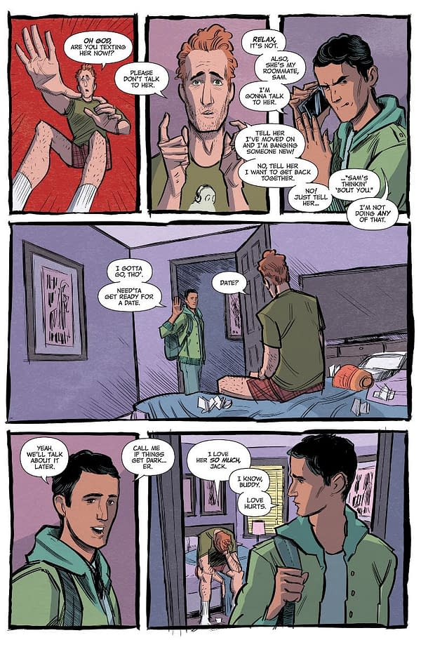 Adulting is Hard in Twenty-Something Dramedy Getting it Together, from Image Comics in June