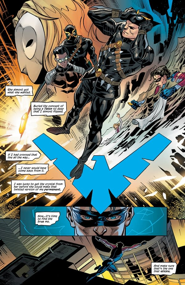 Can Ric Grayson Find His Dick in Nightwing #70?