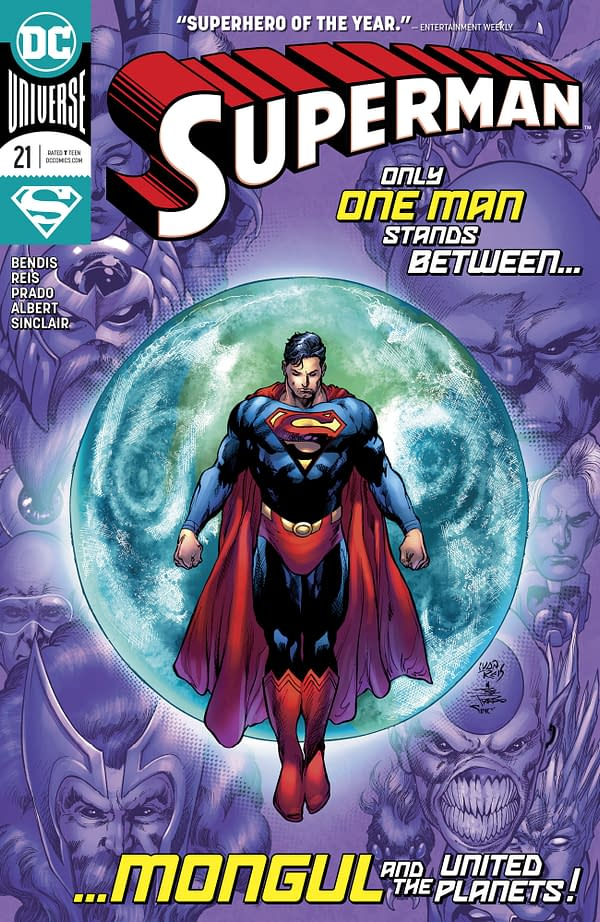 Superman #21 [Preview]