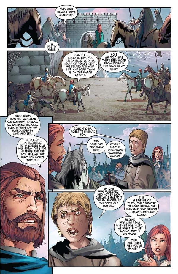 Landry Walker's Writer's Commentary on A Clash Of Kings #3.