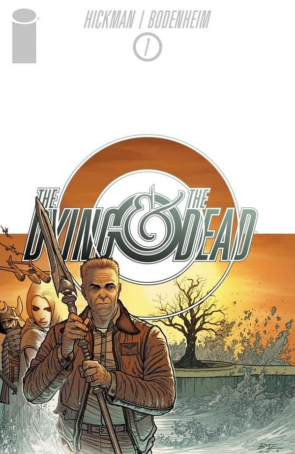 The cover of The Dying and the Dead #1 by Jonathan Hickman and Ryan Bodenheim.