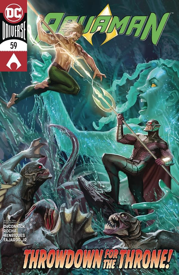 UCS Retailers, Don't Sell Stjpan Sejic's Aquaman #59 Yet - Too Late?