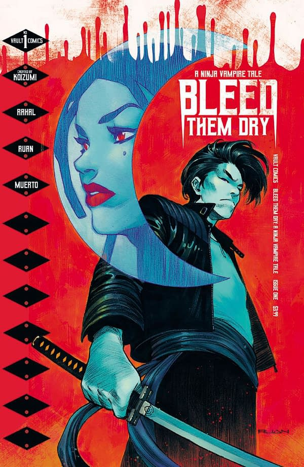 Bleed Them Dry: Ninja Vampire Tale Out On Wednesday - 10 Page Preview.