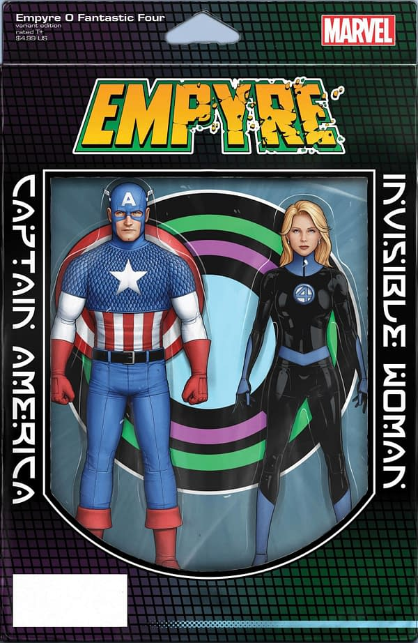 Empyre #0: Fantastic Four John Christopher Tyler Variant Cover