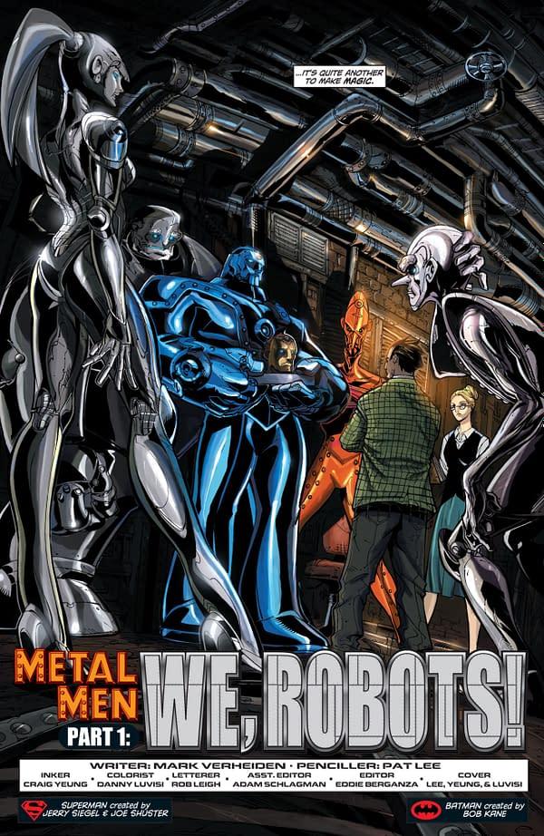 The Evan Dorkin/Mike Allred Metal Men Pitch That Dan DiDio Said No To