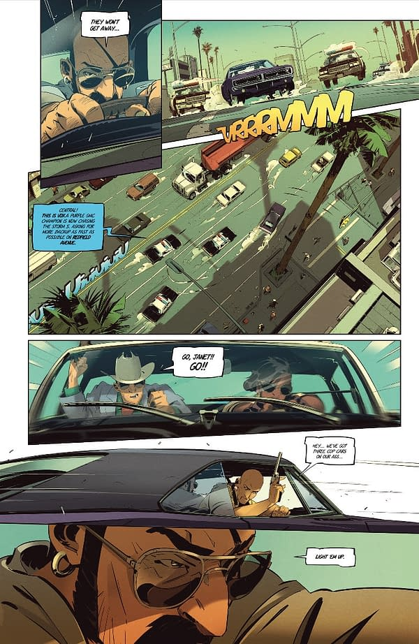 Preview of Gunning for Ramirez by Nicolas Petrimaux From Image Comics.