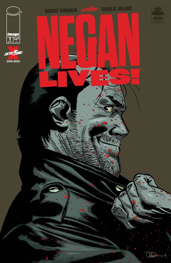 Surprise New Walking Dead Comic - Negan Lives - For July 1st.