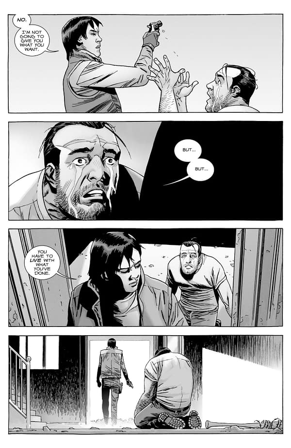 Surprise New Walking Dead Comic - Negan Lives - For July 1st