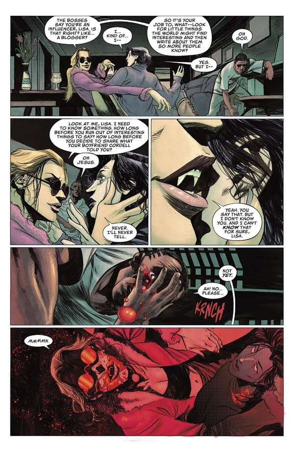 How the Vampire: The Masquerade Comic Book Splits The Story (Preview),