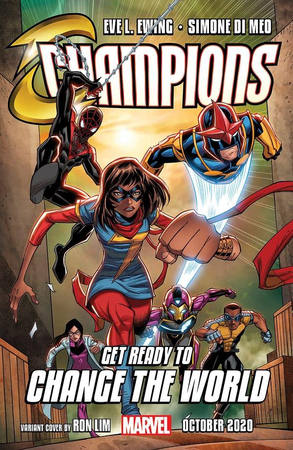 Miles Morales: Spider-Man Vs New York Police in Champions #1 Preview