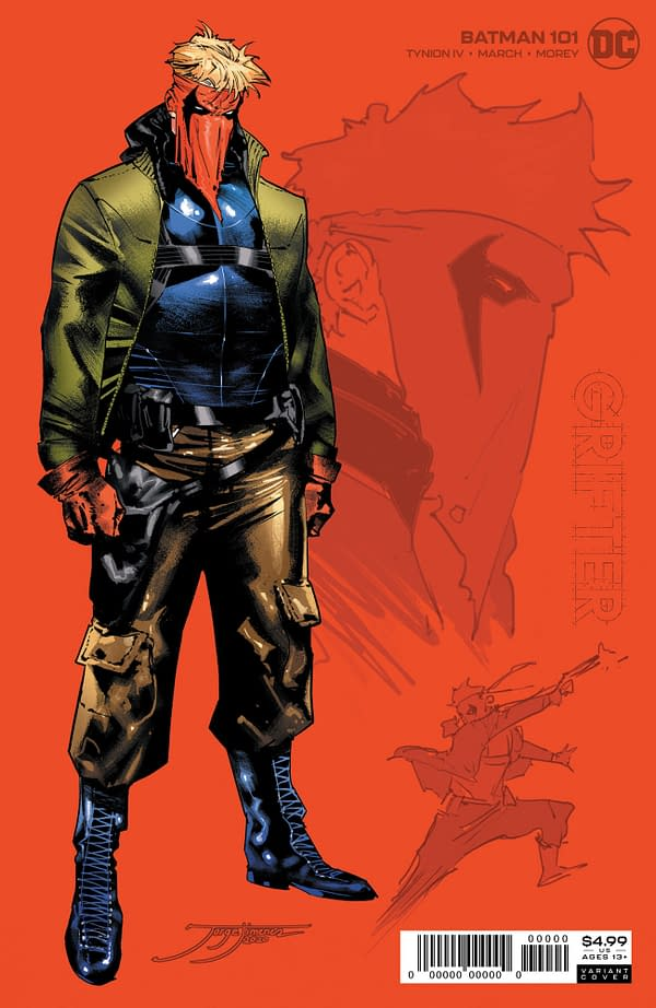 Batman #101 1-In-25 Variant Cover