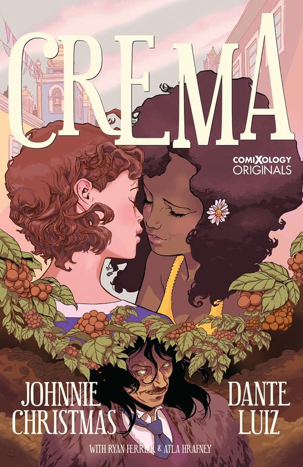 Crema cover. Credit: ComiXology Originals.