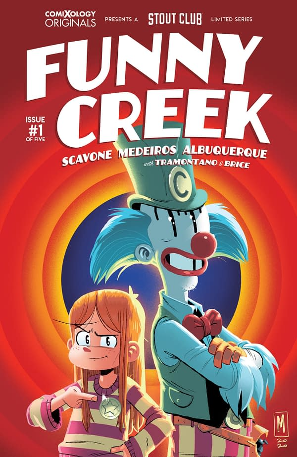 Funny Creek cover. Credit: ComiXology Originals and Stout Club.