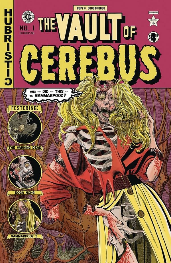 Dave Sim Parodies EC Vault Of Horror For Cerebus In Hell One-Shot.